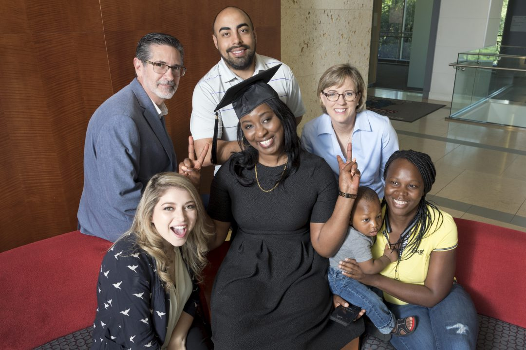 When Mimie Mande crossed the stage at graduation, it was a fitting tribute to her perseverance—and to the Tarrant County College students and employees who ...