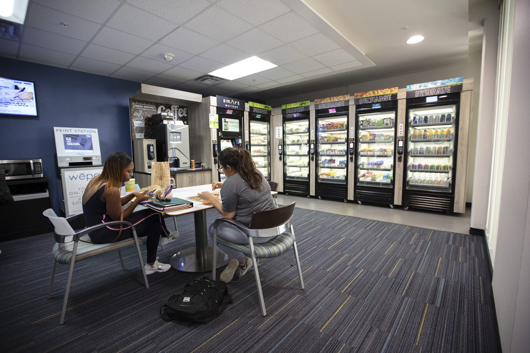 Tarrant County College students now have a chance to get healthy snacks and drinks at all times, thanks to the new Smart Market systems installed at ...