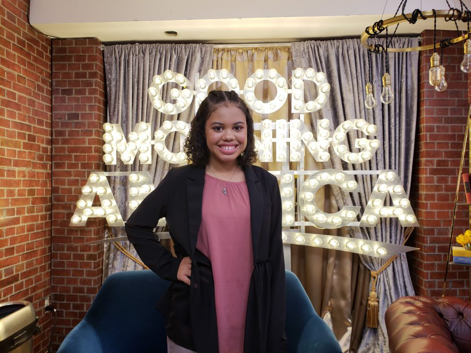 A Tarrant County College student who is making headlines for completing college and heading to law school at the age of 16 told her story nationally on Good ...