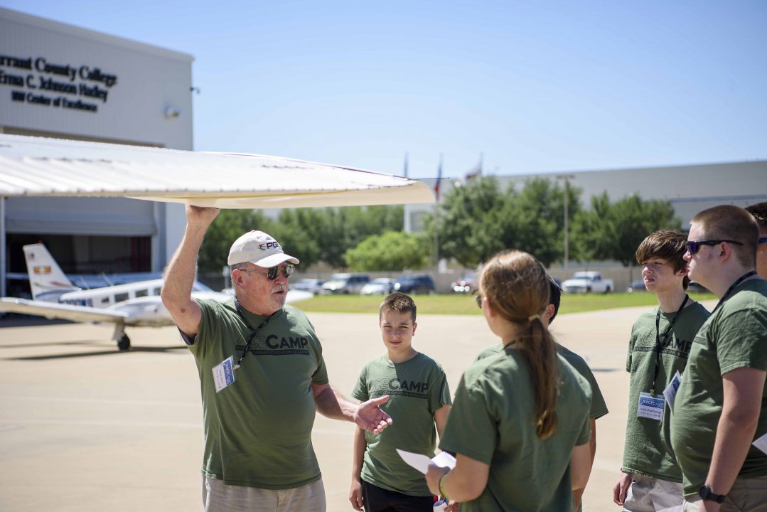 Spots available in TCC, UNT aviation career camp - TCC News