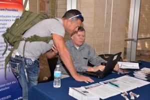 NW Military Careers and Veterans Fair 1