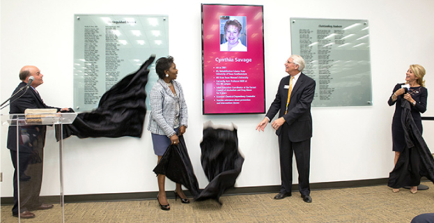 TCC Northeast Campus Dedicates Alumni Wall of Fame