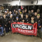 Boy Scouts who Learned Welding at South Campus with Instructor Candace Ortega