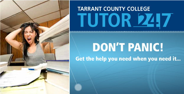 Help Available to TCC Students Around the Clock