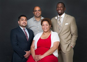 Innovation and Creativity: (L to R) -- Eligio Martinez, Christopher Douglas, Jacqueline Hall and Freddie Sandifer, Jr.