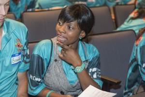 SE Campus Peer Leader Priscilla Ukhuahua