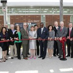 CEET ribbon cutting.