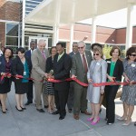 ECHS ribbon cutting.