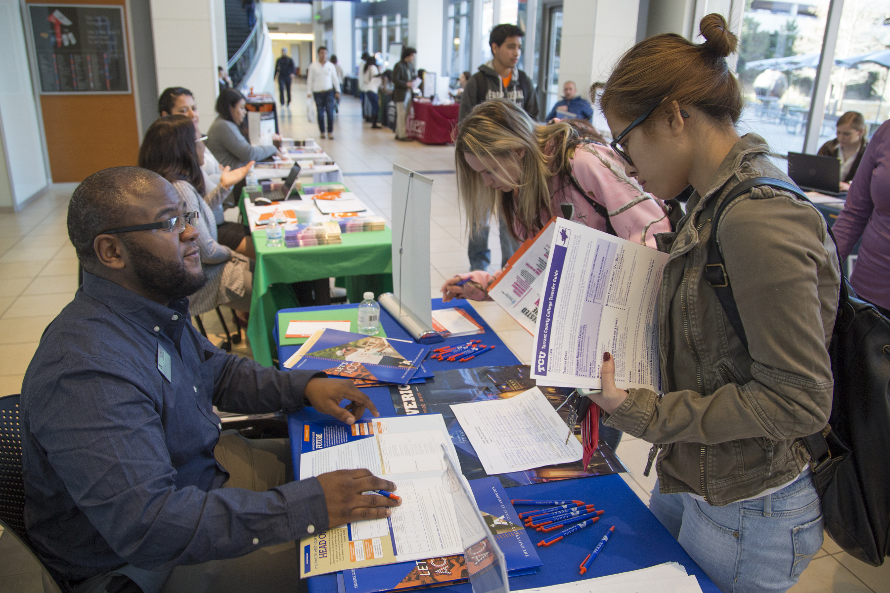 Students Explore Options At Annual Transfer Fair