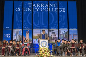 Commencement speaker Kozhi Makai addresses TCC's Class of 2016