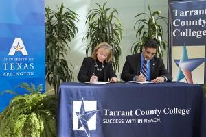 TCC-UTA signing